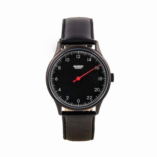 Wundrwatch Classic Black - Black Calf